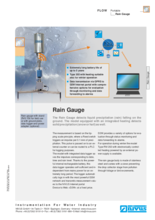 Data sheet Rain Gauge
