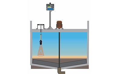 Separation Layer Measurement in Pre-Thickener