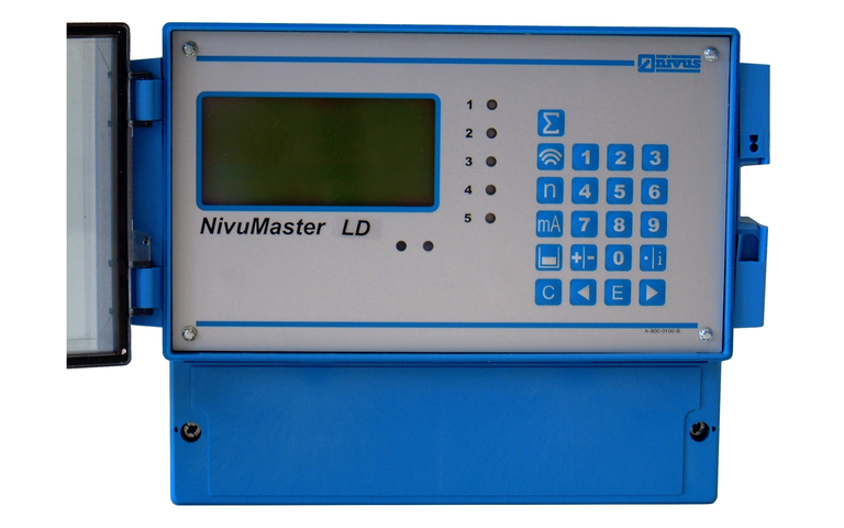 NivuMaster LD-5:2 for comparative measurements on screening plants. For measurement and output of difference and level.