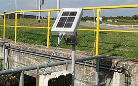 Flow Measurement via GPRS-Transmission